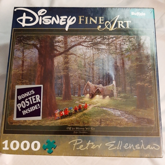 Disney Other - Disney's Fine Art Snow White 1000 Peice Puzzle